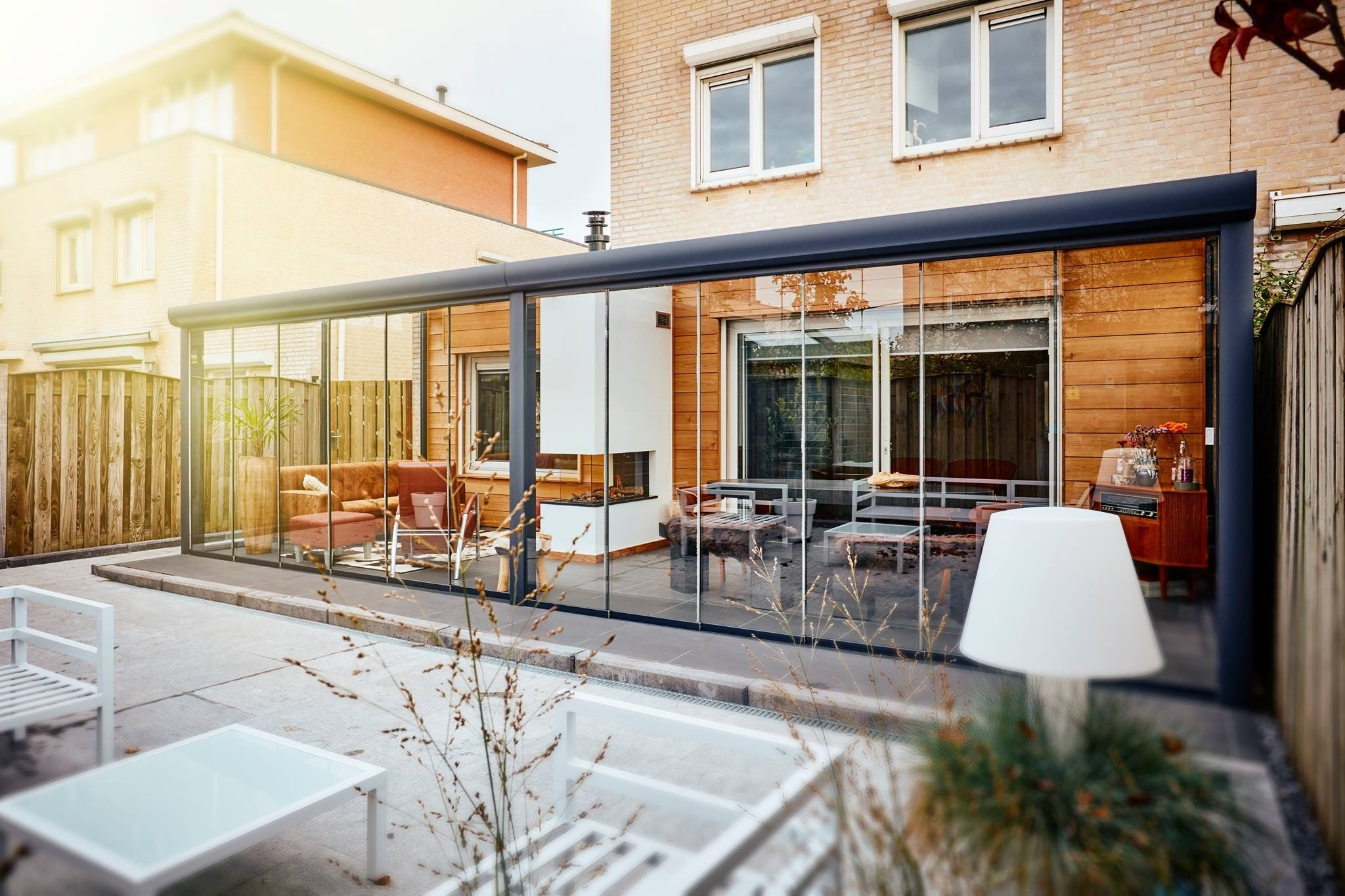 Cortinas de cristal cortinas de cristal en madrid eversun for Cortina cristal terraza