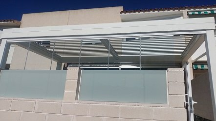 Pérgola Bioclimática para terrazas